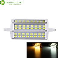 お買い得  LED コーン型電球-SENCART 1000-1200lm R7S LEDフラッドライト 埋込み式 48 LEDビーズ SMD 5730 調光可能 温白色 / クールホワイト 85-265V / 1個