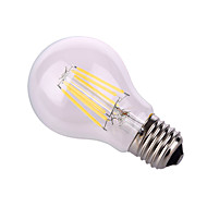 お買い得  LED ボール型電球-12W E26/E27 LEDボール型電球 A60(A19) 6 COB 1020 lm 温白色 / ナチュラルホワイト 装飾用 交流220から240 / AC 110-130 V 1個