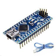お買い得  Arduino 用アクセサリー-Arduinoのためのナノバージョン3.0 atmega328p(公式のArduinoボードで動作します)