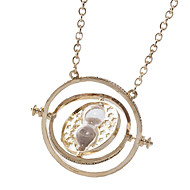cheap Cosplay & Costumes-Hourglass Necklace Classic Men's Women's