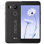 お買い得  スクリーンプロテクター-スクリーンプロテクター のために LG LG Nexus 5X PET 1枚 超薄型