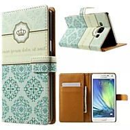 хорошее качество искусственная кожа флип мобильный телефон случае кобура для Samsung Galaxy A3 / A5 / а7
