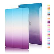 Kılıf Na Jabłko Origami Pełne etui Przejście kolorów Skóra PU na iPad Air