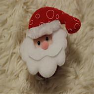 abordables Artículos para Celebración-tridimensional aplaudido muñeco de nieve de santa festival de navidad pulsera círculo pat