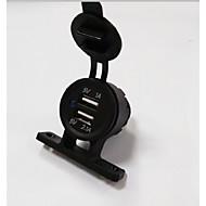 Недорогие Автомобильные зарядные устройства-lossmann Dual USB автомобильное зарядное устройство высокого качества