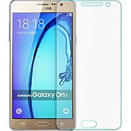 tanie Other Seria Folie ochronne-składka przeciwwybuchowy hartowanego szkła ekran folia osłona łuku hartowane 0,3 mm Membrana do Samsung Galaxy on7