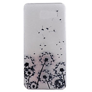 cheap Cases / Covers for Samsung-Case For Samsung Galaxy Samsung Galaxy Case IMD Back Cover Dandelion Soft TPU for A9(2016) A7(2016) A5(2016) A3(2016)