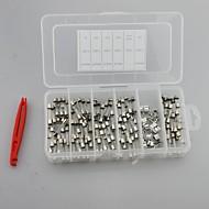 120 x 30a 6x30mm tubo de vidrio fusible rápido 5a 10a 15a 20a y el asiento del fusible con extractor de fusibles