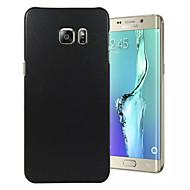 Недорогие Чехлы и кейсы для Galaxy S6 Edge Plus-Кейс для Назначение SSamsung Galaxy Samsung Galaxy S7 Edge С узором Кейс на заднюю панель Однотонный ПК для S7 edge / S7 / S6 edge plus