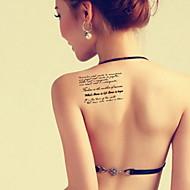 BR - многоцветный - Тату со стразами / Тату с цветами / Тату с тотемом / Прочее - Временные тату - дляРебенок / Для детей / Женский /