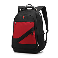 halpa Tietokone- ja tablettitarvikkeet-15,6 tuuman vedenpitävä unisex kannettava reppu selkäreppu selkäreppu matkustaa reppu koululaukku MacBook / dell / hp jne