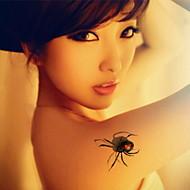 1 - 22*15cm - Πολύχρωμο - Three-Dimensional Spider - BR - Σειρά Κοσμημάτων / Σειρά Λουλουδιών / Σειρά Τοτέμ / Άλλα - Αυτοκόλλητα Τατουάζ -