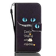 Для Samsung Galaxy S7 Edge Кошелек / Бумажник для карт / со стендом / Флип Кейс для Чехол Кейс для Кот Искусственная кожа SamsungS7 edge