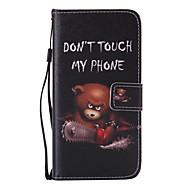 Недорогие Чехлы и кейсы для Galaxy S7 Edge-Кейс для Назначение SSamsung Galaxy Samsung Galaxy S7 Edge Бумажник для карт Кошелек со стендом Флип Чехол Мультипликация Кожа PU для S7