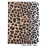 Для Samsung Galaxy S7 Edge Кошелек / Бумажник для карт / со стендом / Флип Кейс для Чехол Кейс для Леопардовый принт Искусственная кожа