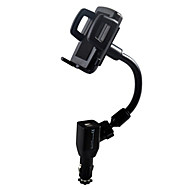 Phone Holder Stand Mount Car Adjustable Stand / Stand with Adapter Plastic for Mobile Phone