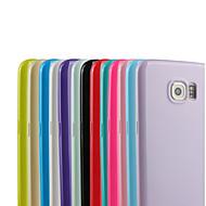 Для Samsung Galaxy S7 Edge С узором Кейс для Задняя крышка Кейс для Один цвет TPU Samsung S7 edge / S7