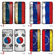 Недорогие Защитные плёнки для экрана iPhone-1 ед. Защитная пленка на всё устройство для Флаг iPhone 6s/6