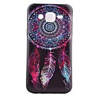 Недорогие Чехлы и кейсы для Galaxy J5-Кейс для Назначение SSamsung Galaxy Кейс для  Samsung Galaxy С узором Кейс на заднюю панель Ловец снов ТПУ для J5 J1 Grand Prime Core