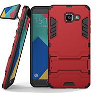 tanie Galaxy A7(2016) Etui / Pokrowce-Kılıf Na Samsung Galaxy Samsung Galaxy Etui Odporne na wstrząsy Z podpórką Czarne etui Zbroja PC na A7(2016) A5(2016) A8