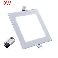 economico -9W 900 lm Nessuno Luci a pannello 45 leds LED ad alta intesità Decorativo Bianco caldo Luce fredda 85-265V