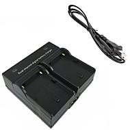 FM500H bateria da câmera digital carregador duplo para Sony A57 A58 A65 A77 A99 A550 A560 A580 A900 FM50 f550 FM500H