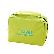 Helytakarékos kompressziós zsákok Szépségápolási táska Kompakt összecsukható poggyászkocsi Felakasztható neszeszer Vízálló Hordozható