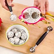 お買い得  キッチン用小物-ステンレス鋼 クリエイティブキッチンガジェット フルーツのための スプーン