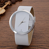 cheap Fashion Watches-Women's Wrist Watch Quartz Casual Watch Leather Band Analog Casual Fashion Elegant Black / White / Blue - Red Blue Pink One Year Battery Life / SSUO LR626