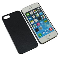 Case For iPhone 5 Apple iPhone 5 Case Other Back Cover Solid Color Hard PC for iPhone SE/5s iPhone 5