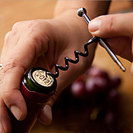 roestvrij staal wijnfles opener kurkentrekker metaal sleutelhanger outdoor flesopener