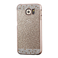 Для Samsung Galaxy S7 Edge Стразы Кейс для Задняя крышка Кейс для Сияние и блеск PC Samsung S7 edge / S7 / S6 edge / S6 / S5 / S4 / S3