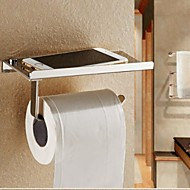 Toiletrulleholder / Sølv Rustfrit Stål /Moderne