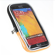 billige -ROSWHEEL Vesker til sykkelstyre Mobilveske 5 tommers Vanntett Regn-sikker Vanntett Glidelås Støvtett Støtsikker Berøringsskjerm iPhone