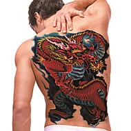 ideiglenes tetoválás (full back) - sárkány (2db)