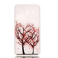 Недорогие Чехлы и кейсы для Galaxy J-Для Кейс для  Samsung Galaxy Сияние в темноте Кейс для Задняя крышка Кейс для дерево TPU Samsung J5 (2016)