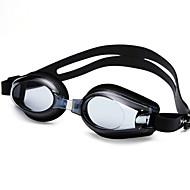 abordables Deportes Acuáticos-Gafas de natación Impermeable / Anti vaho / Tamaño Ajustable Gel de sílice PC Negro / Azul Transparente