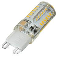 G9 2-pins LED-lampen Verzonken ombouw 58 leds SMD 3014 Dimbaar Decoratief Warm wit Koel wit 400-500lm 3500/6500K AC 220-240V