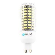 9W G9 LED-kolbepærer T 80 leds SMD 800lm Varm hvid Kold hvid 6000-6500;3000-3500 Vekselstrøm 220-240
