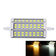 7W R7S LED Floodlight Recessed Retrofit 48 SMD 5730 550-600 lm Warm White Cold White 3000-3500  6000-6500 K Dimmable AC 85-265 V