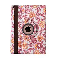 360 stupnjeva plavo-bijeli porculan pu kožna flip cover slučaj za iPad Air 2 (biranih boja)