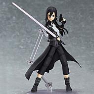 Anime Akciófigurák Ihlette Kardművészet Online Kirito PVC 15 CM Modell játékok Doll Toy