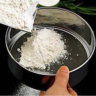 olcso -15ccm rozsdamentes acél liszt szitán w / rozsdamentes acélháló