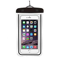billige Sport- og friluftsutstyr-Tørrsekk / Mobilveske til Samsung Galaxy S6 / iPhone 6s / 6 / iPhone 6 Plus Lettvekt / Vanntett / Lysrør 6inch PVC