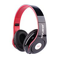 billige -OVLENG På øret Pannebånd Med ledning Hodetelefoner Plast Mobiltelefon øretelefon Med mikrofon Headset