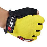 povoljno -QEPAE Aktivnost / Sport Rukavice Biciklističke rukavice Ugrijati Prozračnost Otporno na nošenje Anti-traktorskih Protective Otpornost na