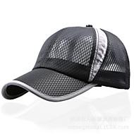 Hombre Mujer Unisex Primavera Verano Otoño Sombrero Transpirable Protector Algodón Nailon Béisbal