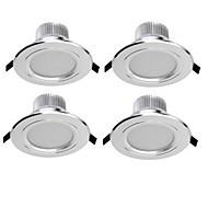 voordelige -Verzonken lampen 6 leds SMD 5730 Decoratief Warm wit Koel wit 300lm 3000/6000K AC 85-265V