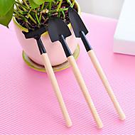 abordables Herramientas de Jardín-3 piezas mini herramientas de jardinería adaptarse a las herramientas de la olla de la familia / rastrillo, paleta, trasplantador