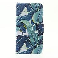 Недорогие Чехлы и кейсы для Galaxy S7 Edge-Для Samsung Galaxy S7 Edge Бумажник для карт / Кошелек / со стендом / Флип / С узором Кейс для Чехол Кейс для Цветы Искусственная кожа